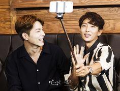 Lee Jun Ki, Kang Ha Neul, and Hong Jong Hyun Promote K-Bu Bu Jing Xin on SBS Variety Show Running Man | A Koala's Playground