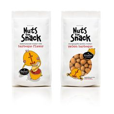 Nuts for Snack on Behance
