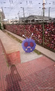 #PokémonGo #Liebesschlösser