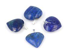 #modra #barva #srdicko #srdce #privesek #pendant #stribro #stribrny #heart #blue #lapislazuli #stone #kamen #mineral