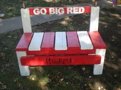 Go Big Red by Artisticthoughts on Etsy, $100.00