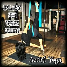 Want to play, stretch and strengthen....in the AIR? Join us for any of our aerial arts classes for aerial fitness FUN!