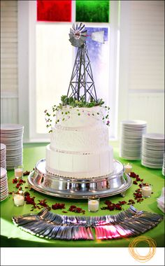 Windmill Wedding Cake!