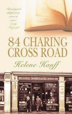 "Hanff, Helene Charing Cross Road"" - 1970 and ""The Duchess of Bloomsbury Street"" - 1973 Even though "" 84 Charing Cross Road "". Good Books, Books To Read, My Books, Sir Anthony Hopkins, Who Book, Modern Classic, Memoirs, Book Lovers, Lettering"