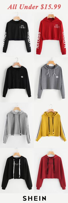 All under $15.99! Cute Winter Outfits, Cute Outfits, Canada Shopping, Teen Fashion, Womens Fashion, Hoodies, Sweatshirts, Nike Jacket, Girl Outfits