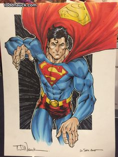 Awesome Comic Art Picks: Todd Nauck posted some commissions from La Mole Comic Con in Mexico City