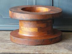 Check out this item in my Etsy shop https://www.etsy.com/listing/213379773/vintage-industrial-wood-mold-foundry