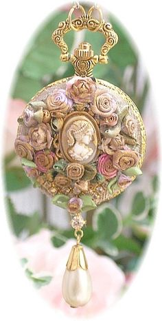 Dont think I would wear it...but I like to look at it..it would look great on a mare..in costume..LOL  Cameo Pendant - ♔ | Cameo Cravings ♥ | Pinterest)