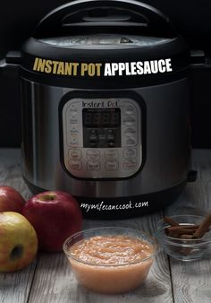 Making applesauce at home is a pain, right? Nope! Not when you make Instant Pot applesauce. All the flavor, half the work.