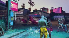 Concept Art from the Trailer! - Cyberpunk 2077 — from the creators of The Witcher 3: Wild Hunt