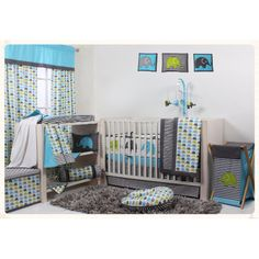 Found it at Wayfair - Elephants 10 Piece Crib Bedding Set