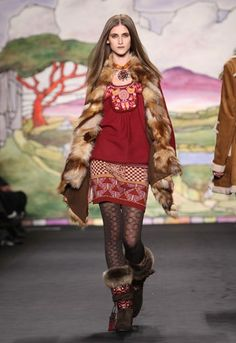 Hunt & Gather...Style.  Anna Sui