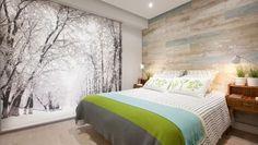 Dormitorio calido y luminoso #Hogarmania #decogarden