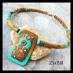 Necklace by Verundela, via Flickr