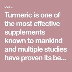Remedies Natural Turmeric is one of the most effective supplements known to mankind and multiple studies have proven its benefits for the brain and the brain in general. Holistic Care, Holistic Remedies, Natural Health Remedies, Health And Beauty Tips, Health Advice, Healing Herbs, Natural Healing, Turmeric Shots, Turmeric Tea