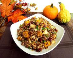 Vanilla & Spice: Thanksgiving Week - Day 6: Butternut Squash and Apple Quinoa