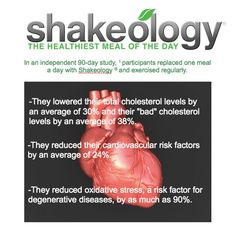 This superfood-packed protein shake helps you lose weight the healthy way, fight junk food cravings, increase your energy, and improve your digestion. Shakeology Benefits, Shakeology Shakes, Beachbody Shakeology, One Meal A Day, Cholesterol Levels, Recipe Of The Day, Health Coach, Superfood, Healthy Life