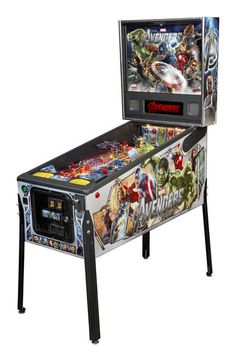 Stern Pinball The Avengers Pro Arcade Pinball Machine Cave Man, Stern Pinball, Pinball Wizard, Nintendo, Air Hockey, Baby Foot, Arcade Machine, Arcade Games, Pinball Games