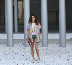 New post on lenuagerose.com  Street Style by Giulia Ann