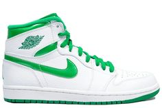 sports shoes fb606 c5919 boy nike jordan 1 retro high white sea green shoe