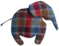 Free Pattern Cuddle Blanket Elephant