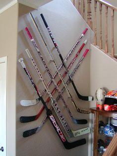 Boys Hockey Room, Hockey Bedroom, Hockey Mom, Field Hockey, Ice Hockey, Hockey Stuff, Hockey Girls, Hockey Crafts, Hockey Decor
