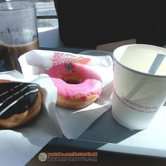 Free donuts with Dunkin Donuts' Coffee Combo Dunkin Donuts Coffee, Pudding, Desserts, Free, Tailgate Desserts, Deserts, Custard Pudding, Puddings, Postres