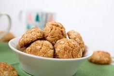 Kokosové vánoční sušenky Cooking Cookies, Christmas Sweets, Baby Food Recipes, Almond, Fitness, Recipes For Baby Food, Almond Joy, Almonds