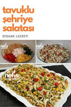 Tavuklu Arpa Şehriye Salatası #tavukluarpaşehriyesalatası #salatatarifleri #nefisyemektarifleri #yemektarifleri #tarifsunum #lezzetlitarifler #lezzet #sunum #sunumönemlidir #tarif #yemek #food #yummy