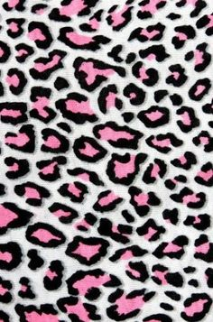 Pink And Gray Leopard