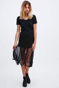 Free People Dreamland Knit 241 Skirt