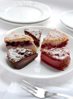 Magic Cake Part 2: Includes recipes for Chocolate, Red Velvet, & Fruit Magic Cake. The magic is in the fact that you make only one batter and, after baking, you get a cake with 3 distinct layers: dense one on the bottom, custard-like layer in the middle, and a sponge layer on top.