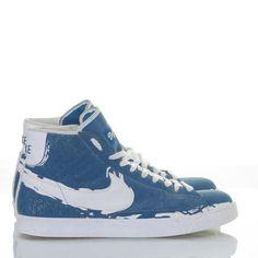 cc5d2f101 Nike Blazer Hi Men s Shoes 2008 Sz 13 Jackie Robinson Brooklyn Court B –  itisvintage