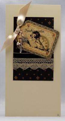 Handmade Card - Fashionista