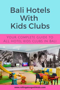 Bali hotels with kids clubs is the ultimate guide to kids clubs in Bali. When traveling to Bali with kids this will help you choose out of over 50 Bali hotels with kids clubs. Details like ages of kids and costs involved. Resorts For Kids, Best Family Resorts, Hotels For Kids, Best Resorts, Bali With Kids, Travel With Kids, Family Travel, Jimbaran Bali, Bali Legian