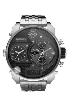 Diesel Men's DZ7221 SBA Silver Watch at http://suliaszone.com/diesel-mens-dz7193-sba-black-watch/