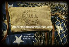"""""""Mona B"""" USA Stamp Collection      (Small Pouch)"""