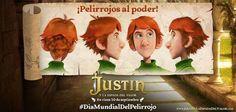 Ayer se estrenaba Justin coincidiendo con el #DíaMundialDelPelirrojo y para celebrarlo tenemos 2 cámaras bloggies de Sony! Pincha en la imagen y participa :)