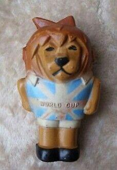 Maskottchen Fussball WM 1966