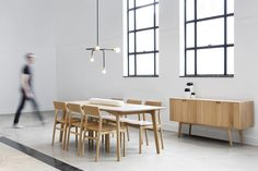 The Dot Collection combines the directness of exposed, spherical bulbs with the rich materiality of brass. Focused, geometric compositions contain these two features, balancing line, surface, and luminous points. The result is a collection of lamps based in the reflectivity of brass—lamps that are both atmospheric and firm.