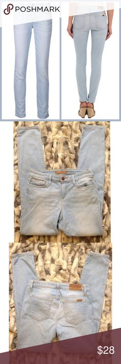 """🎉🎉Sale Joes Jeans Straight Ankle Joes Jeans Straight Ankle on """"Takara"""" excellent condition....size 28...Inseam 30.5"""" Joe's Jeans Jeans Straight Leg"""