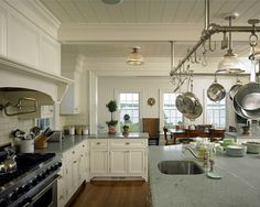 Trim out the bulkhead for architectural interest