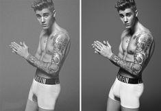 Polémica en internet por fotos retocadas de Justin Bieber. VER AQUÍ: http://www.audienciaelectronica.net/2015/01/13/polemica-en-internet-por-fotos-retocadas-de-justin-bieber/ …
