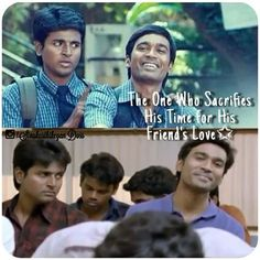 """""""Quote"""" of the day // . Tag if you someone(s) that is/are related... . #Sivakarthikeyan #dhanush #Moonu #3 . @dhanushviews @siva_kartikeyan"""