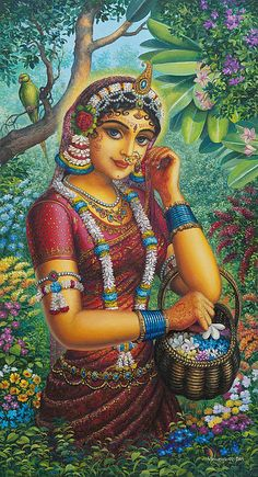 Beautiful Radha!