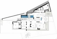 deuxième niveau de maison de luxe