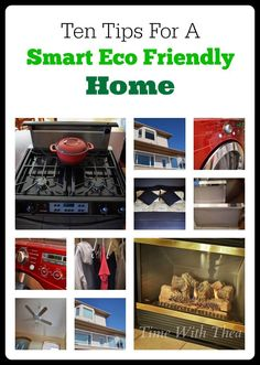 Ten Tips For A Smart Eco Friendly Home #Desmarthome #sp from @Time With Thea #smallvictoriessunday