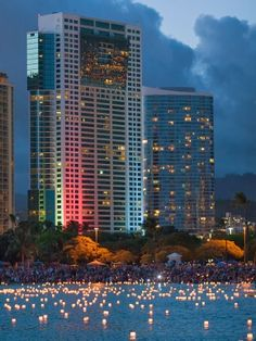 Honolulu Lantern Festival, Oahu, Hawaii