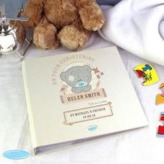 Personalised Me To You Tiny Tatty Teddy Photo Album Baby Christening Personalized Photo Albums, Personalized Gifts For Kids, Personalised Baby, Teddy Photos, New Baby Announcements, Baby Christening, Tatty Teddy, Unusual Gifts, New Baby Gifts