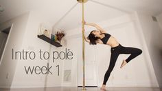 Week 1 | Beginner Pole Dance Sequence | Intro to Pole Series [She has 10 weeks work of videos, these have nice choreography you can try]
